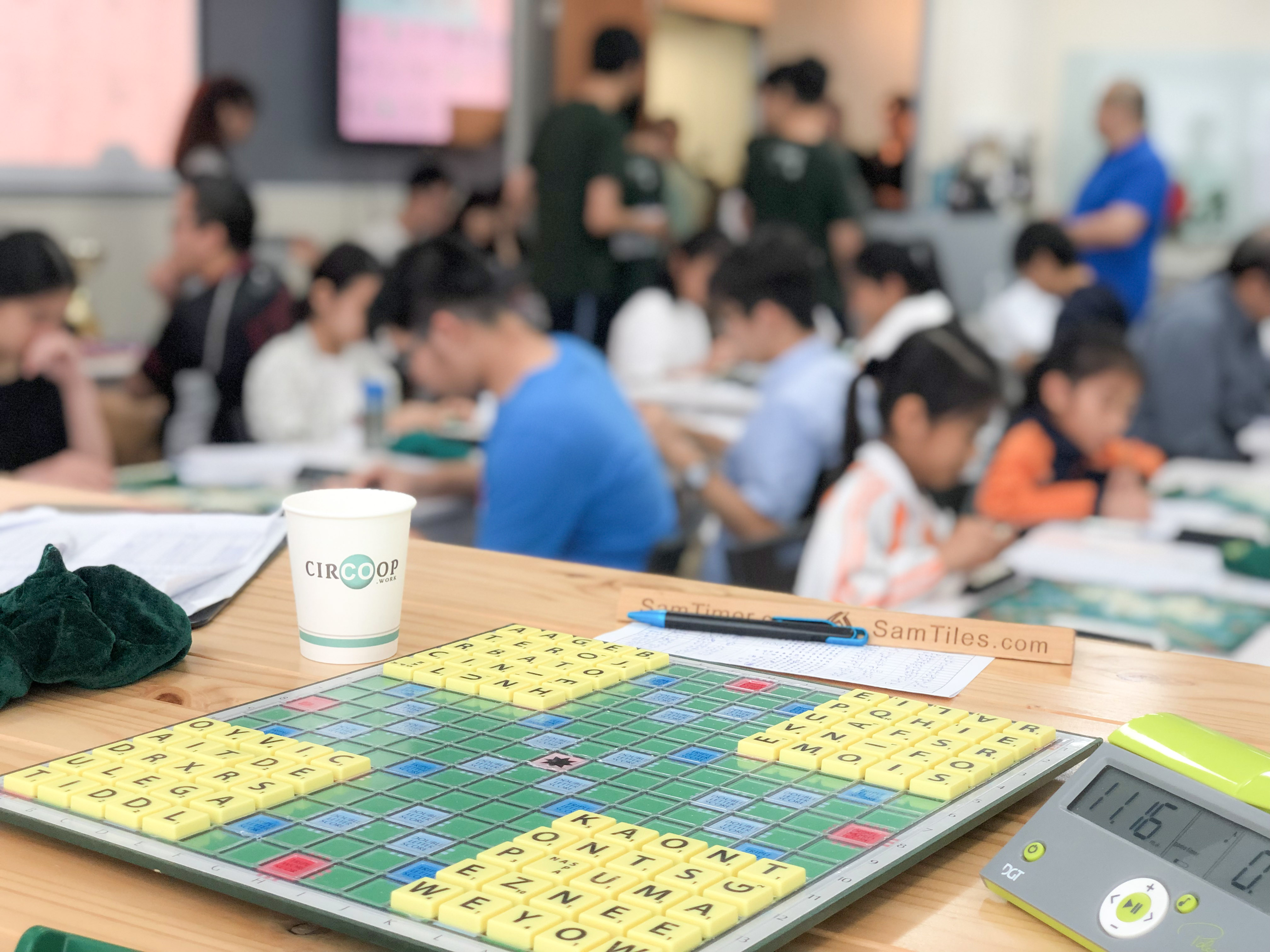 Scrabble Competition